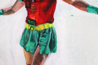 Boy Wonder (detail)